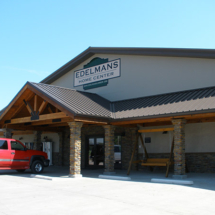 There is easy access at Edelmans Lumber.